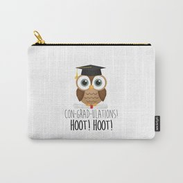 Con-grad-ulations! Hoot! Hoot! Carry-All Pouch