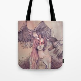Eagle princess Tote Bag
