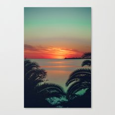 Colonia Sunset Canvas Print