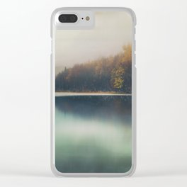 Autumn Dusk Clear iPhone Case