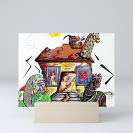 Animal House Mini Art Print