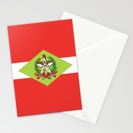 flag of santa catarina Stationery Cards