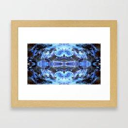 Spirit of Blue Framed Art Print