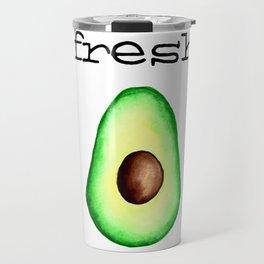 Fresh Avocado fr e sh a voca do Travel Mug