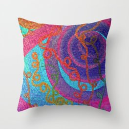 Ringaling Throw Pillow