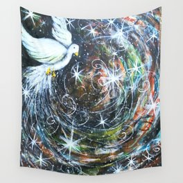 The Wind of Promise Wall Tapestry