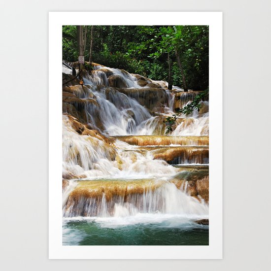 refreshing nature II Art Print