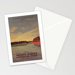 Prince Albert National Park Stationery Cards