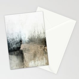 Neutral abstract  Stationery Cards