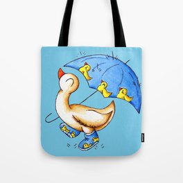 Duck Weather Tote Bag