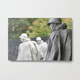 Korean War Memorial II Metal Print