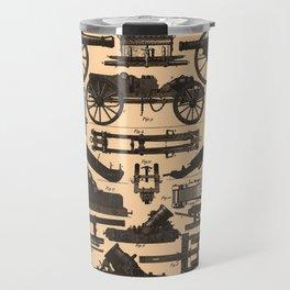 Vintage Illustration of Cannons & Artillery (1907) Travel Mug