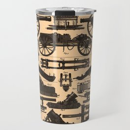 Vintage Illustration of Cannons & Artillery (1907) Travel Mug