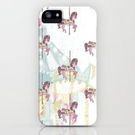 CAROUSEL Pop Art iPhone Case