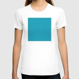 Turquoise Très Petit Geometric Pattern T-shirt