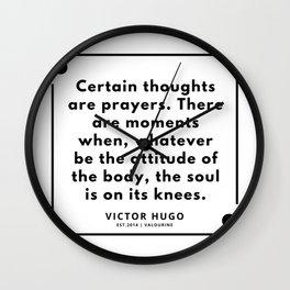 19    Victor Hugo Quotes   190830 Wall Clock