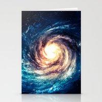 xbox Stationery Cards featuring Spiral Galaxy by Zavu