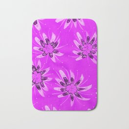 Violet Aria Rose Bath Mat