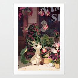 Leafeon Art Print