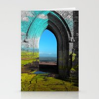 portal Stationery Cards featuring Portal by Tobias Bowman
