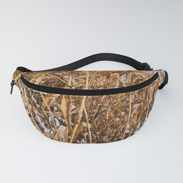 Golden grass Fanny Pack