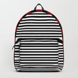 Different Sides (red) Backpack