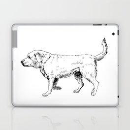 Labrador Retriever Ink Drawing Laptop & iPad Skin