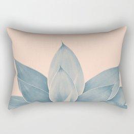Blush Agave #3 #tropical #decor #art #society6 Rectangular Pillow