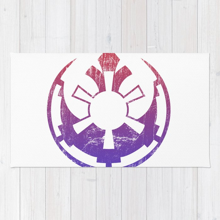 rebel empire rug by resistance society6