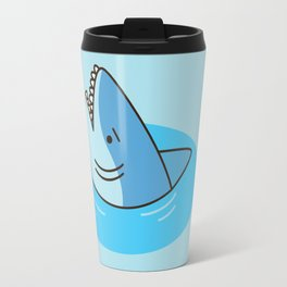 Shark Puddle Travel Mug