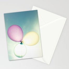 Balloons in the Sun Stationery Cards