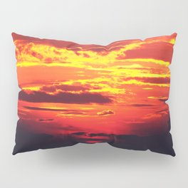 Devilish Sunset #society6 #home #tech Pillow Sham