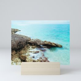 Crashing Waves Mini Art Print