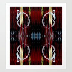 Fading Doubled Art Print