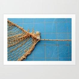 Knot The Sea Art Print