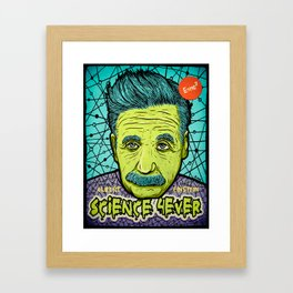 Science 4ever Framed Art Print