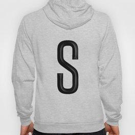 """The Letter """"S"""" Monogram Hoody"""