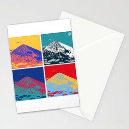 Mt. Fuji Pop Art Stationery Cards
