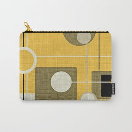 orbs and square gold yellow Carry-All Pouch