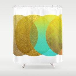 Goldpunkt Shower Curtain