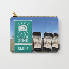 Selfie Zone - Smile Carry-All Pouch