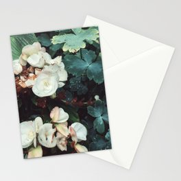 Garden in the rain Stationery Cards