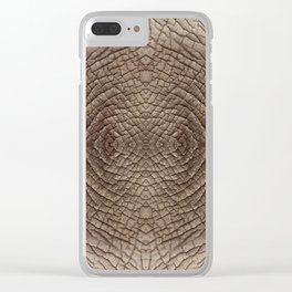 Elephant Skin Clear iPhone Case