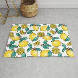 Digital Lemon Pattern Rug