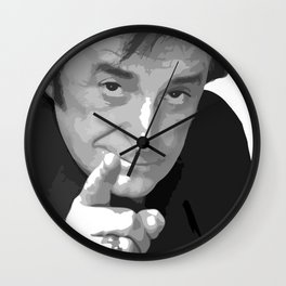 Cry me a Dick Rivers - The true french rock star Wall Clock