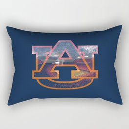 auBlue Rectangular Pillow