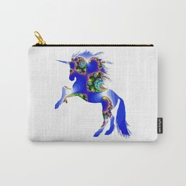 Magic Blue Unicorn Carry-All Pouch