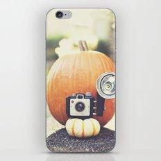 Big Pumpkin iPhone & iPod Skin
