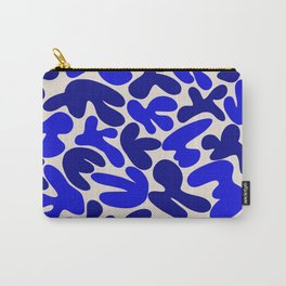 Blue abstract mural Carry-All Pouch