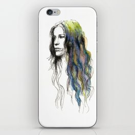 Head Over Feet iPhone Skin